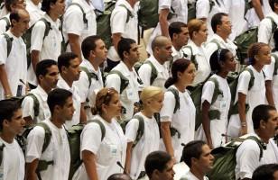 Après le sommet de l'ALBA du 20 octobre, Cuba envoie une nouvelle brigade de 165 médecins pour combattre l'épidémie de Ebola en Afrique