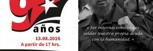 90 años de Fidel 1